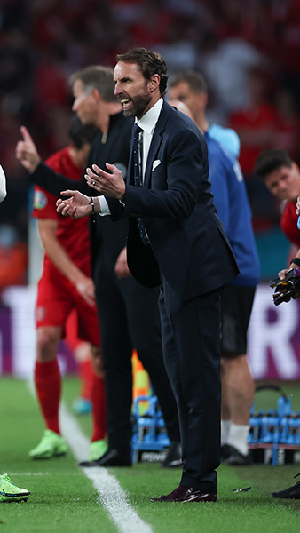 England's Gareth Southgate