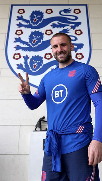 England's Luke Shaw