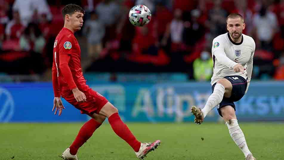 Luke was one of the stars of England's UEFA EURO 2020 campaign