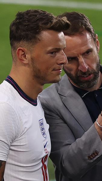 England's Ben White