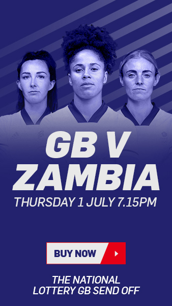 Team GB v Zambia tickets