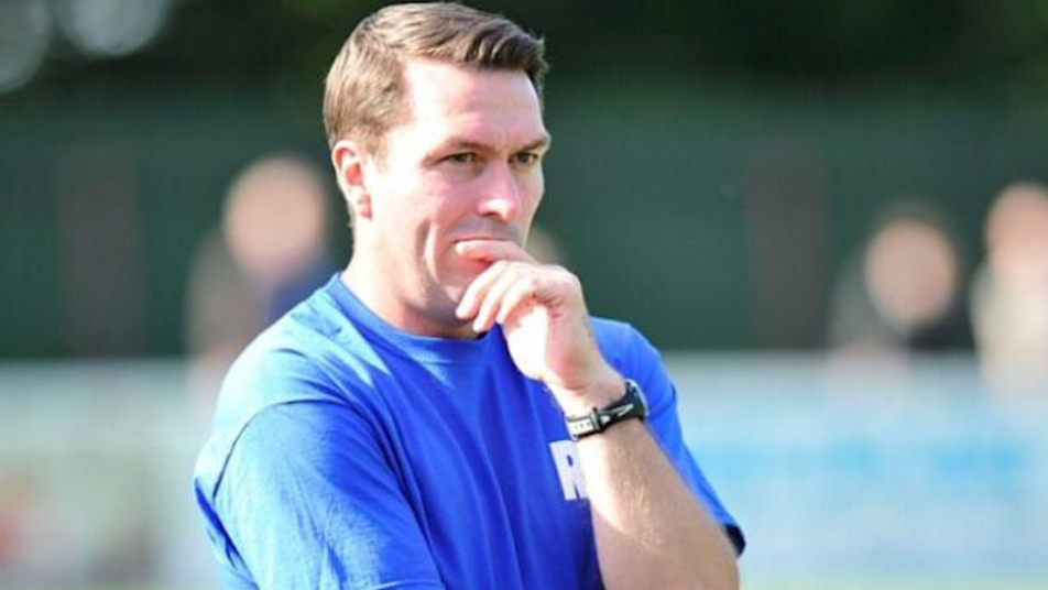 Former Yate Town coach Rob Cousins, who scouted Mings during a charity game