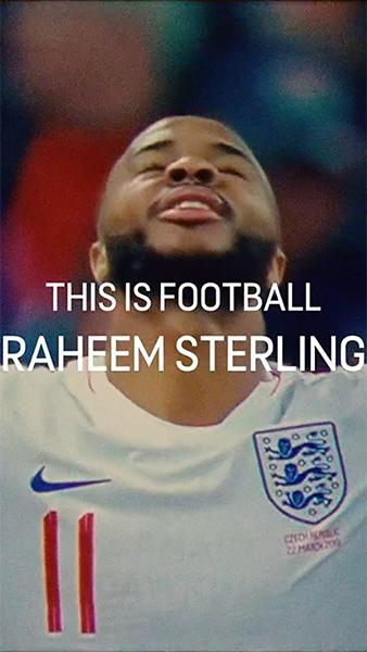 This is Football - Raheem Sterling