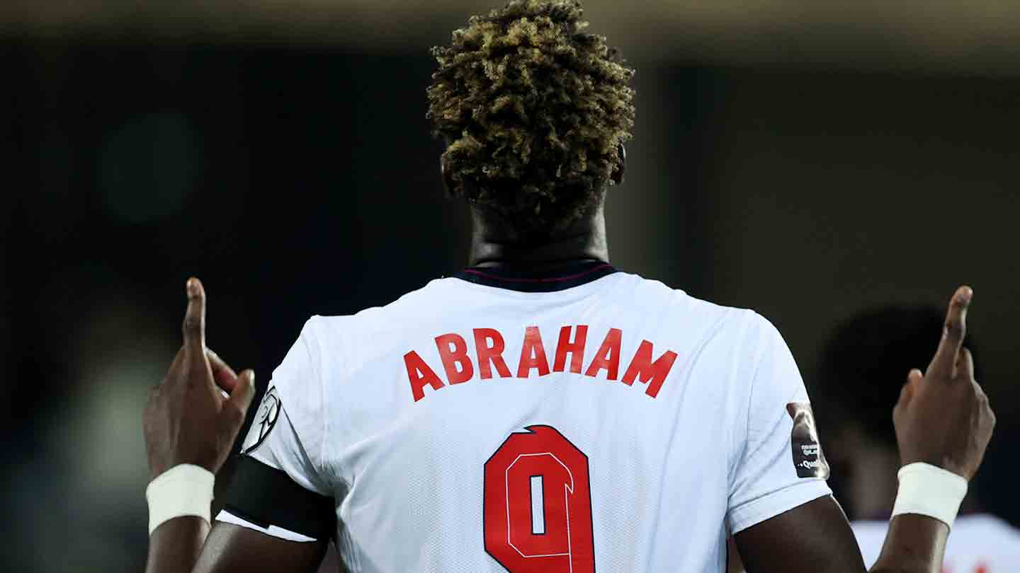 Tammy Abraham added another goal to his international tally in the second half