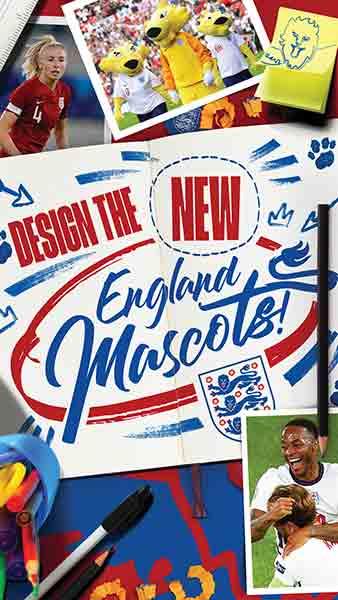 Design the new England mascot