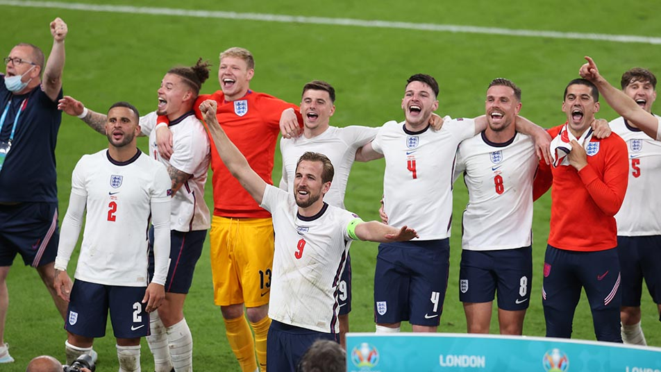 Conor Coady was part of the England squad who reached the final of Euro 2020
