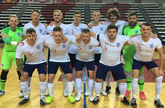England's partially sighted team