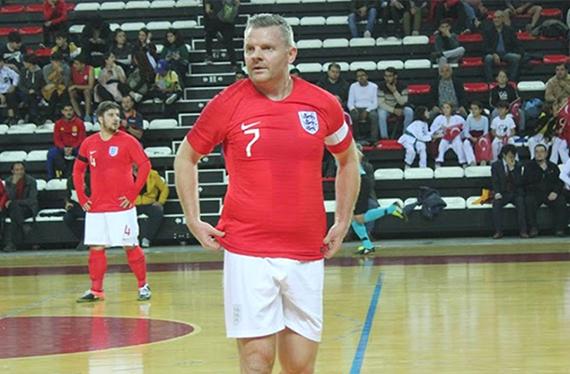 England's Steve Daley