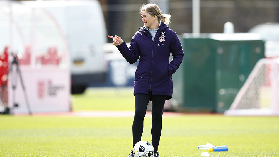 Lionesses head coach Hege Riise will oversee the six-day training camp at Bisham Abbey