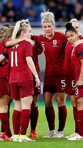 England Women's squad