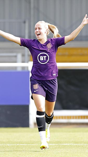 England forward Beth Mead