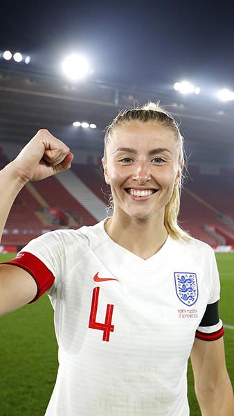England's Leah Williamson