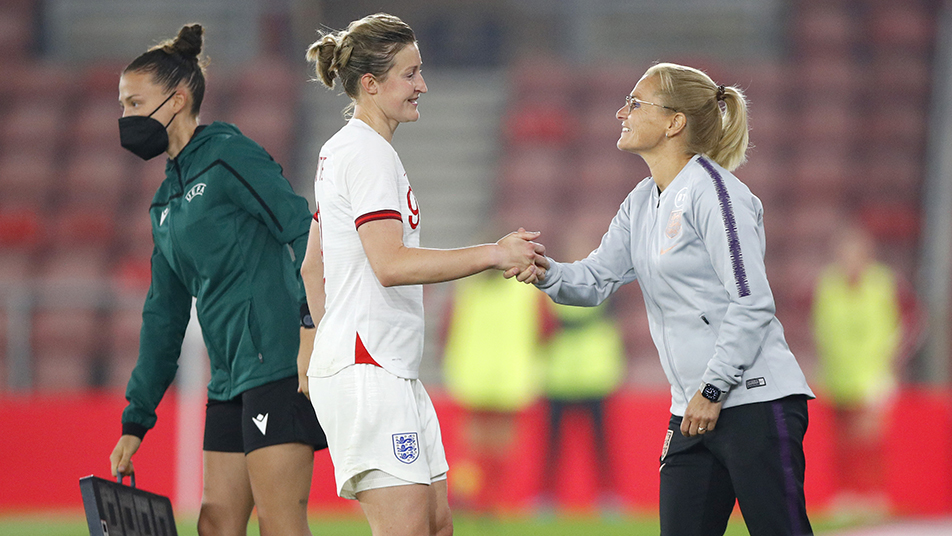 Wiegman will be hoping Ellen White can get closer to breaking the England Women's goalscoring record during October's games