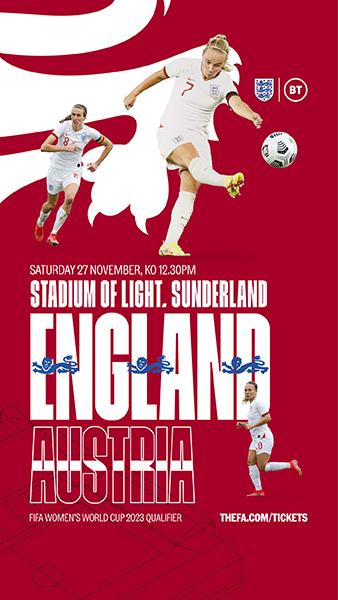 England v Austria