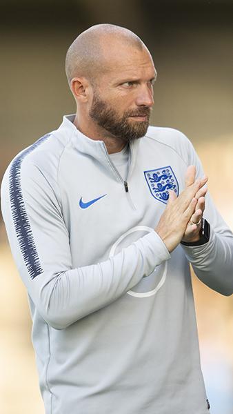 England development coach Ian Foster