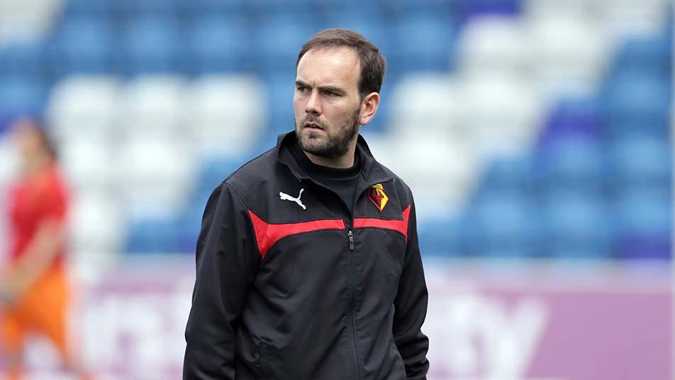 John Salomon during his days as Watford Ladies manager