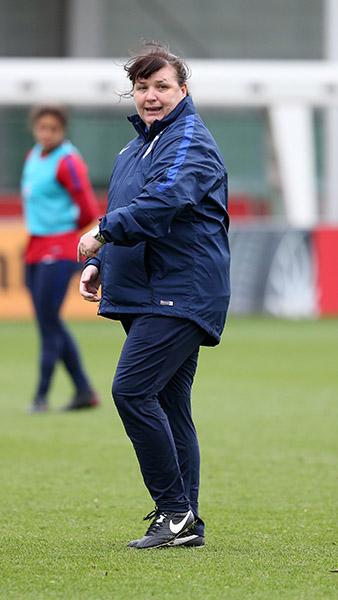 England Women's U23s coach Mo Marley