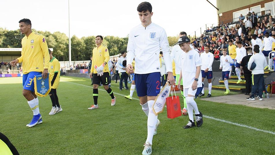 Tino Livramento has spoken of his immense pride at captaining England Under-18s