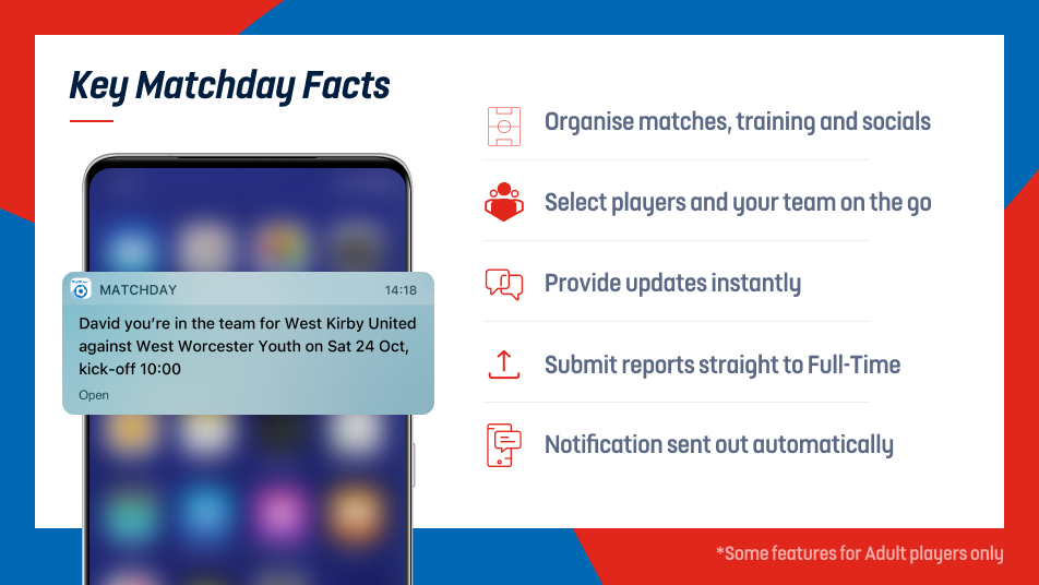 Key Matchday Facts for Coaches and Club Admins