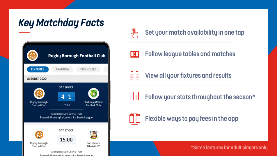 Key Matchday Facts for Players and Parents
