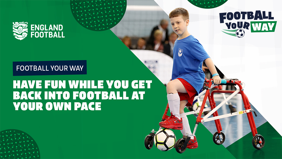 England Football launches Football Your Way campaign
