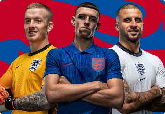 Visit the England store