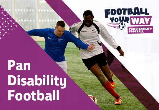 Pan-disability football