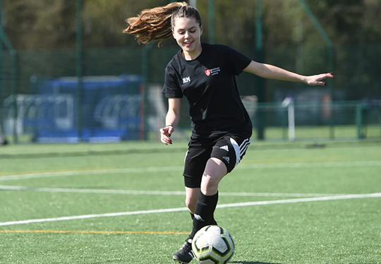 Women's and girls' football
