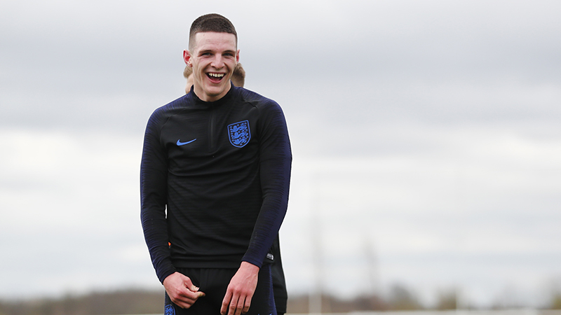 England's Declan Rice
