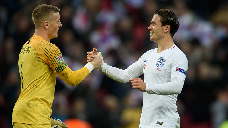 England's Ben Chilwell
