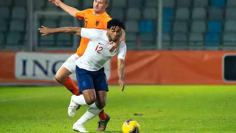 England MU21s defender Reece James