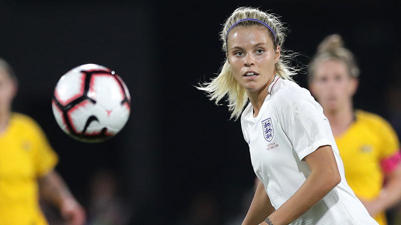 Rachel Daly in action against Australia