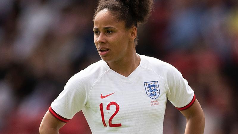 England defender Demi Stokes