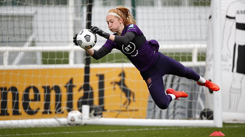 England Women's goalkeeper Sandy MacIver