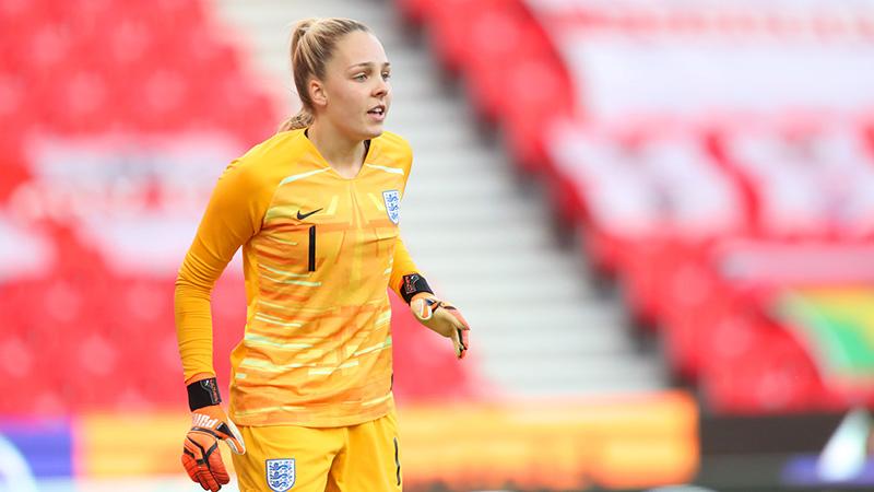 England's Ellie Roebuck