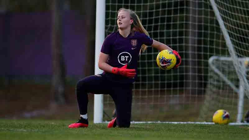 England's Hannah Hampton
