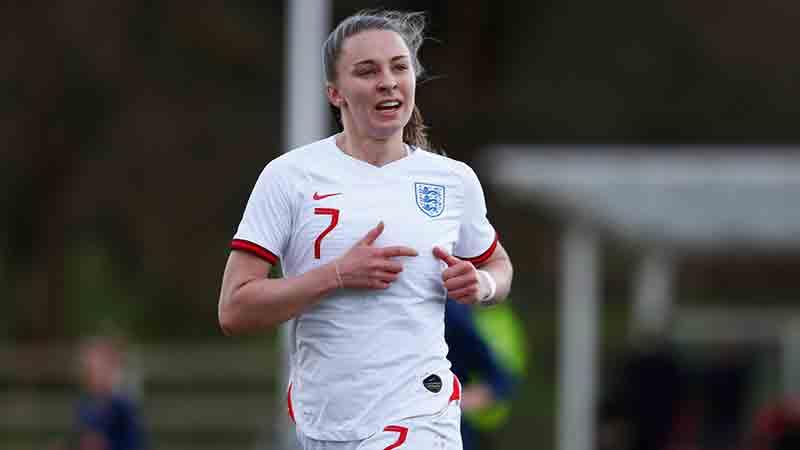 England's Niamh Charles