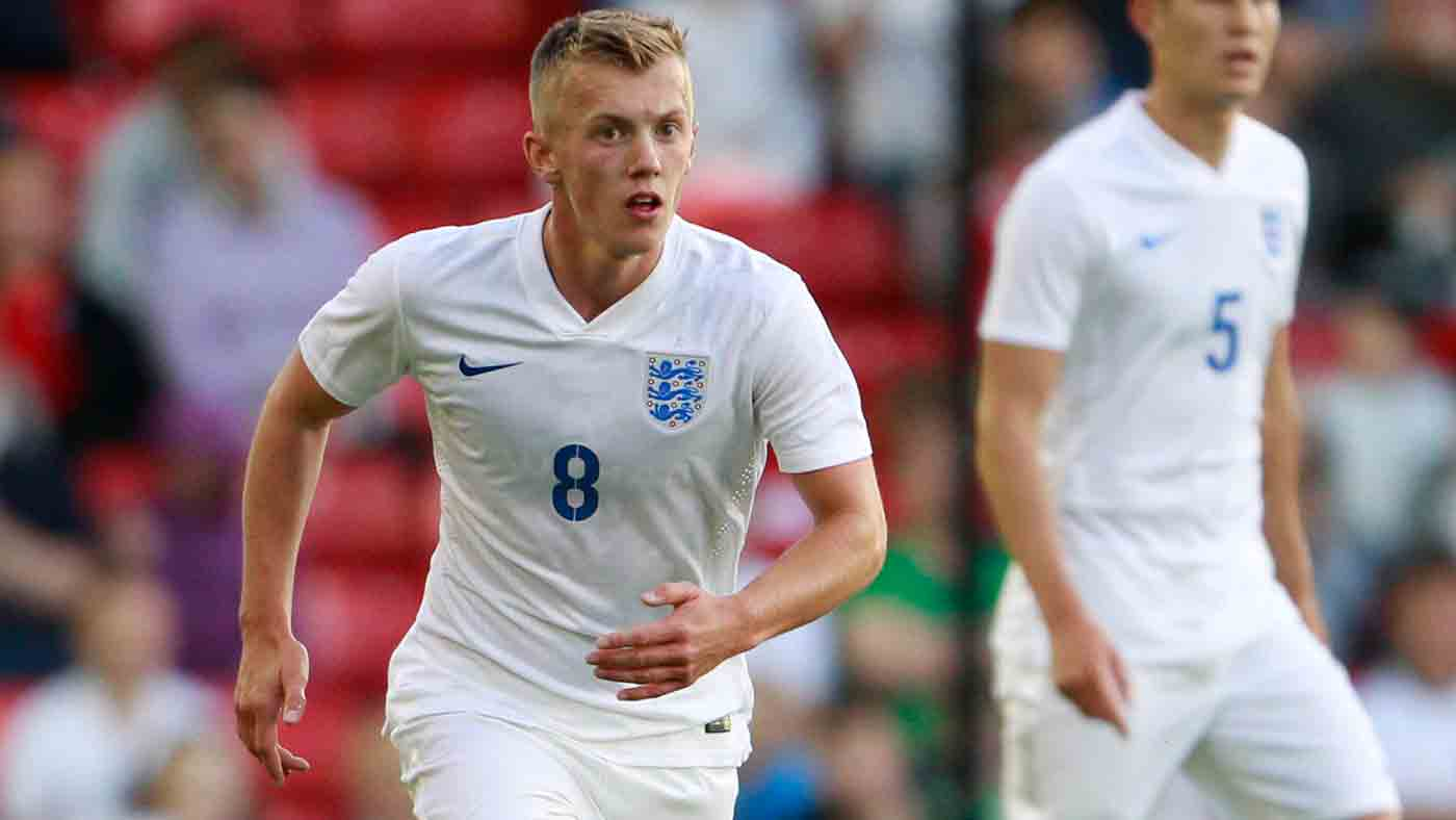 England U21s captain James Ward-Prowse